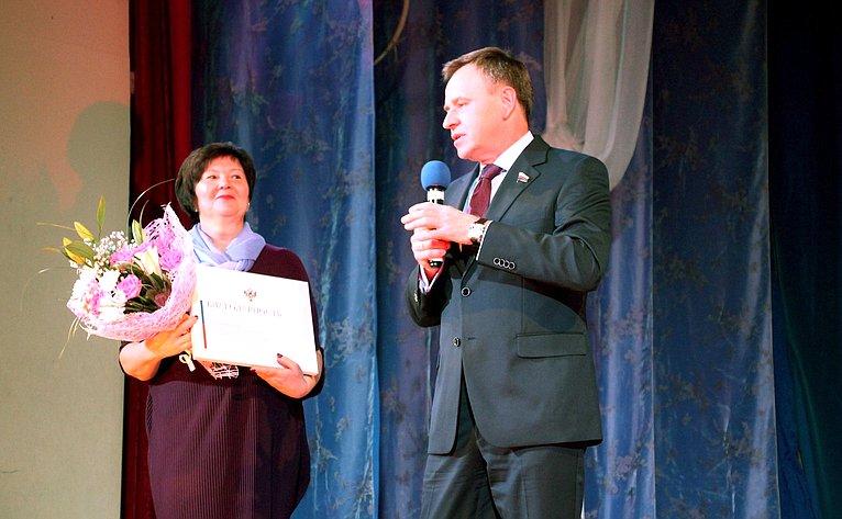 Виктор Новожилов принял участие вторжественном мероприятии, посвященном пятилетию женской палаты депутатов Архангельской области
