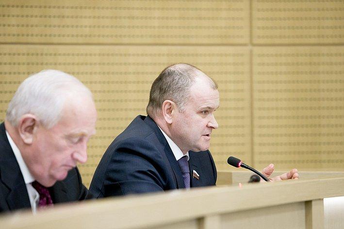 И. Чернышев 371-е заседание Совета Федерации