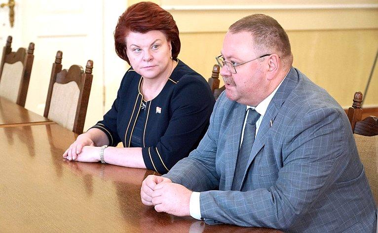 Марина Оргеева иОлег Мельниченко