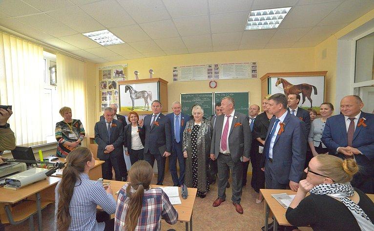 ВКраснодарском крае прошло выездное заседание комитета понауке, образованию икультуре
