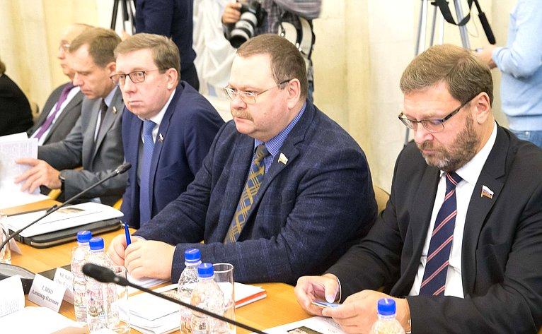 Алексей Майоров, Олег Мельниченко иКонстантин Косачев