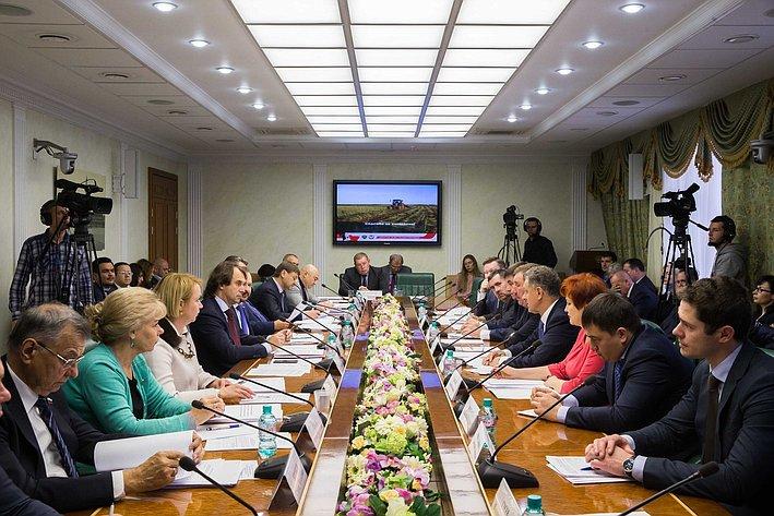 Расширенное заседание Комитета Совета Федерации по аграрно-продовольственной политике и природопользованию