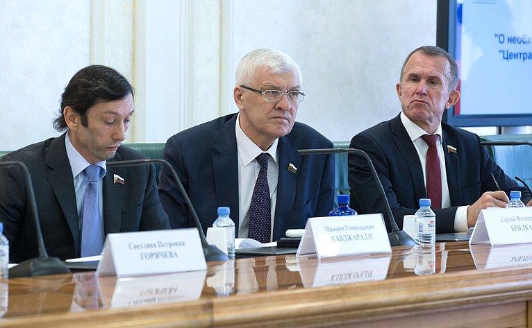 Максим Кавджарадзе, Сергей Брилка, Владимир Кравченко