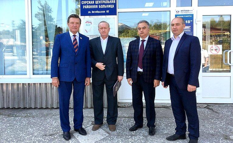 Сергей Рябухин посетил ряд районов Ульяновской области, встретился сглавами муниципальных образований