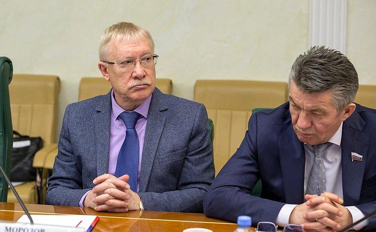 Олег Морозов иВиктор Озеров
