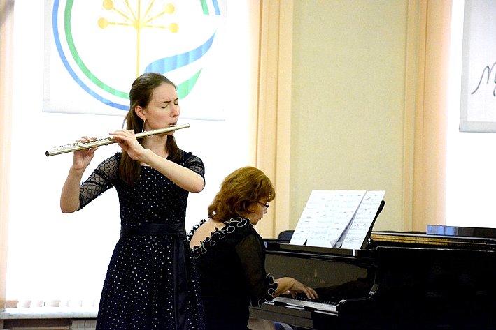 Выступление воспитанников Благотворительного фонда В.Спивакова вРеспублике Башкортостан