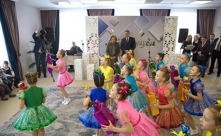 Торжественное открытие МБДОУ «Детский сад №2 «Левушка»