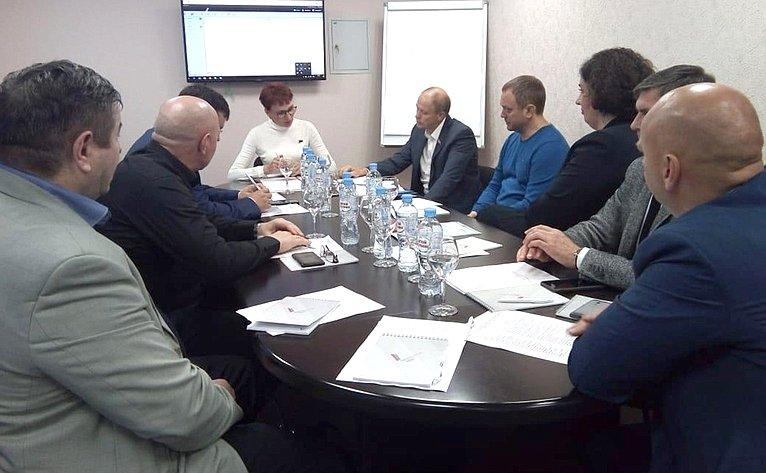 Татьяна Кусайко провела заседание «круглого стола» натему мужского здоровья иактивного социального долголетия