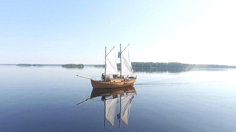 Экспедиция поисторическому Онежско-Беломорскому водному пути