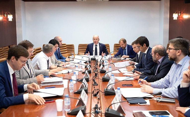 Рабочее совещание Комитета СФ поконституционному законодательству игосударственному строительству