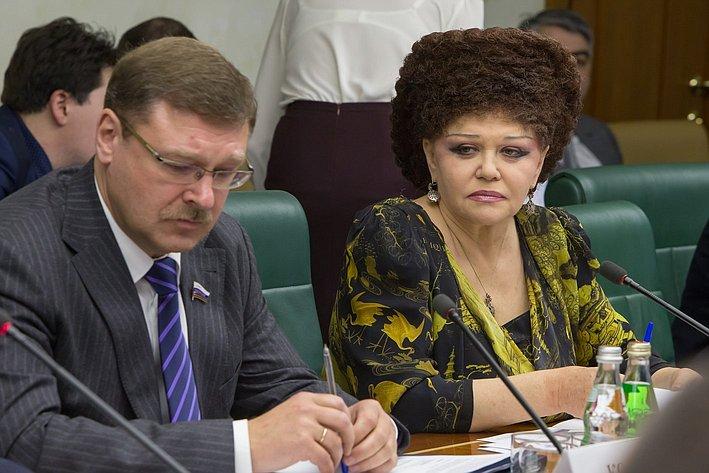 В. Петренко Заседание Комитета общественной поддержки жителей Юго-Востока Украины