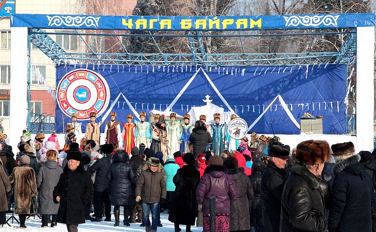 Татьяна Гигель приняла участие впраздновании двух праздников: Чага-Байрам