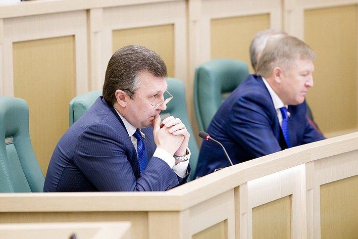 В. Васильев 371-е заседание Совета Федерации