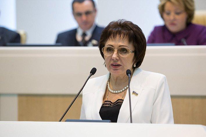 Бибикова 383-е заседание Совета Федерации