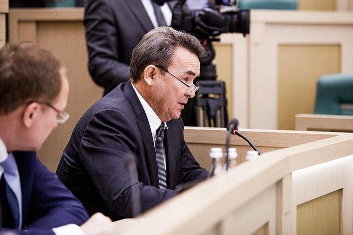 353 заседание СФ Аксаков