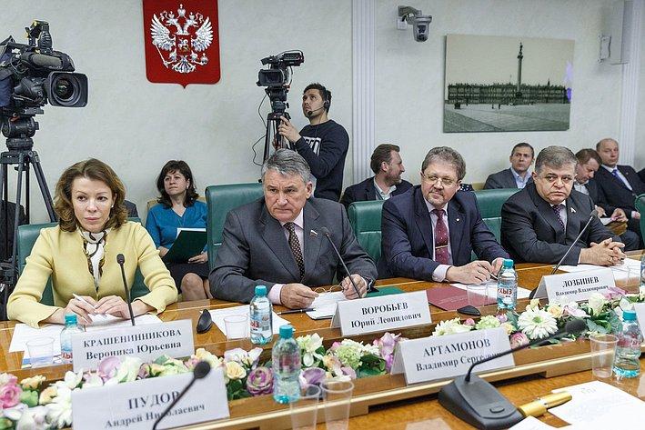 В Совете Федерации состоялось заседание Комитета общественной поддержки жителей Юго-Востока Украины