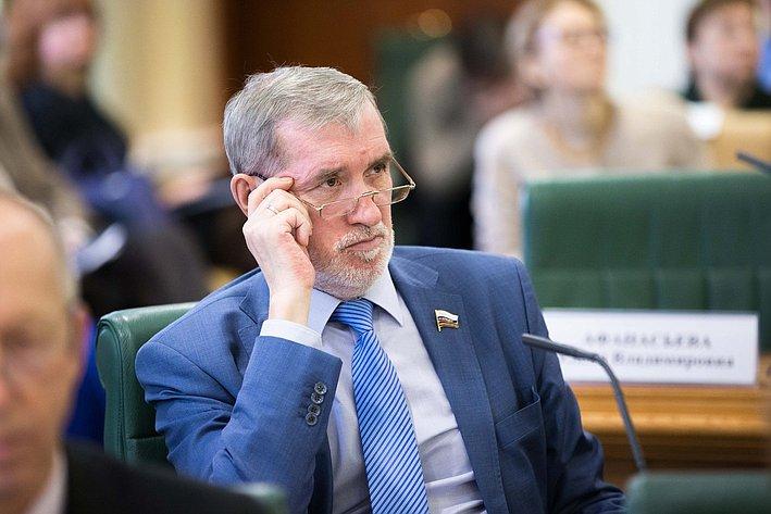 Ермаков. Заседание Совета по местному самоуправлению при верхней палате парламента
