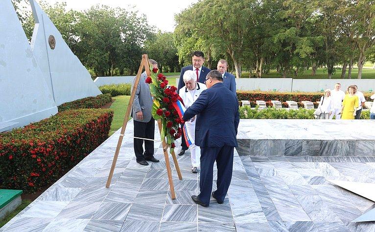 Визит делегации СФ наКубу