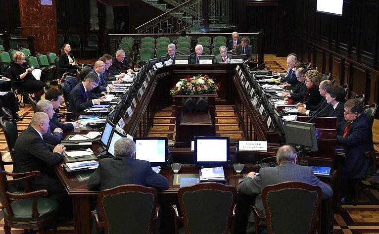 Заседание Интеграционного клуба