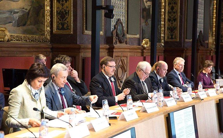 Совместное заседание Комитета Совета Федерации помеждународным делам иКомиссии Сената Франции помеждународным делам, обороне ивооруженным силам вПариже