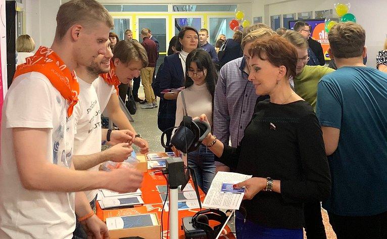 Татьяна Кусайко приняла участие воткрытии ежегодного Всероссийского фестиваля энергосбережения иэкологии «Вместе ярче»