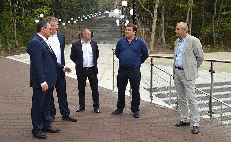 Рабочая поездка Николая Федорова вЖелезноводск