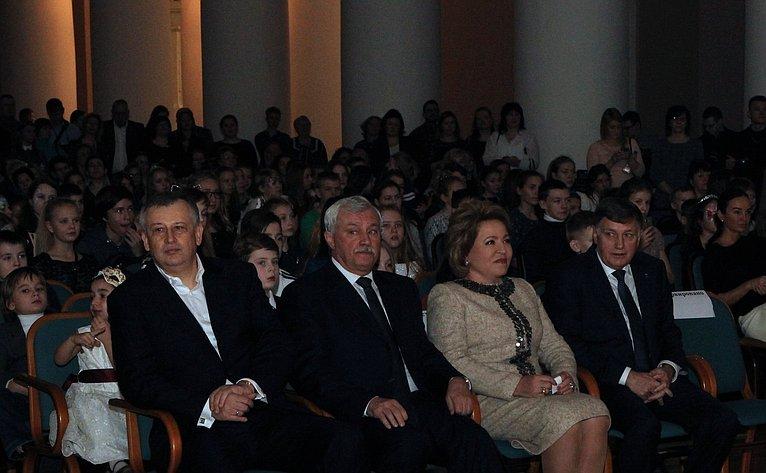 В. Матвиенко вСанкт-Петербурге