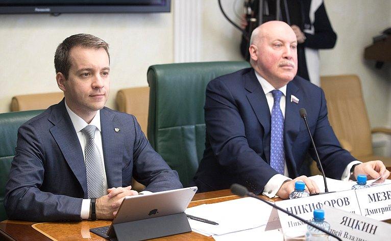 Н. Никифоров иД. Мезенцев