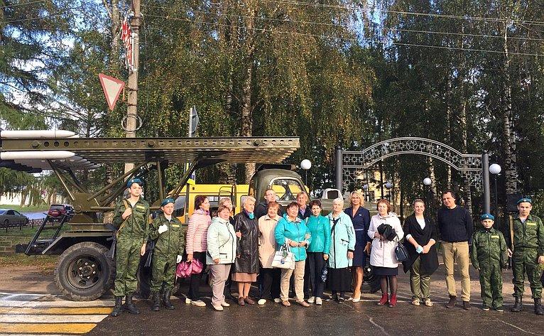 Н. Косихина врамках работы вЯрославской области провела ряд встреч вмуниципальных образованиях региона