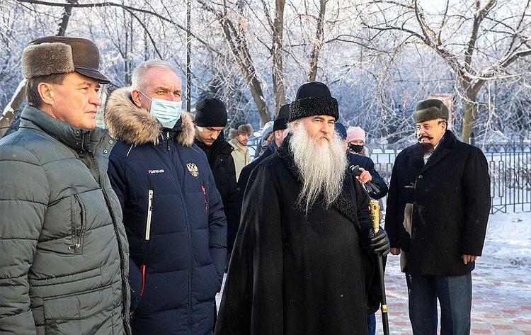 Сергей Рябухин принял участие вмероприятиях, приуроченных кначалу празднования 800-летия содня рождения святого благоверного великого князя Александра Невского