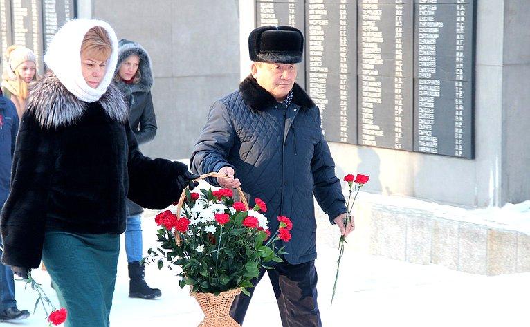 Т. Гигель приняла участие вмитинге, посвященном 75-летию разгрома фашистских войск под Сталинградом