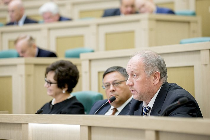 379-е заседание Совета Федерации Рыбаков