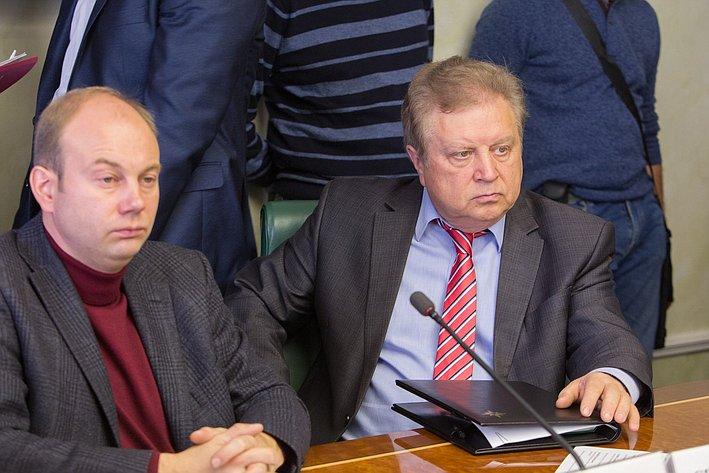 Е. Серебренников Заседание Комитета общественной поддержки жителей Юго-Востока Украины