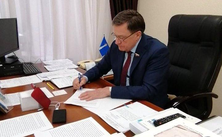 Сергей Рябухин провел прием граждан города Ульяновска вдистанционном формате повопросам здравоохранения