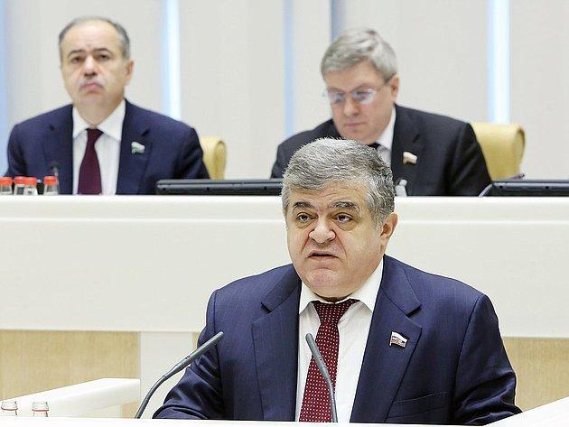 331 заседание Совета Федерации Джабаров