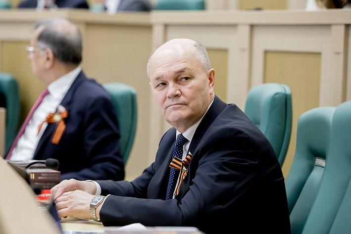 373-е Заседание Совета Федерации Щетинин