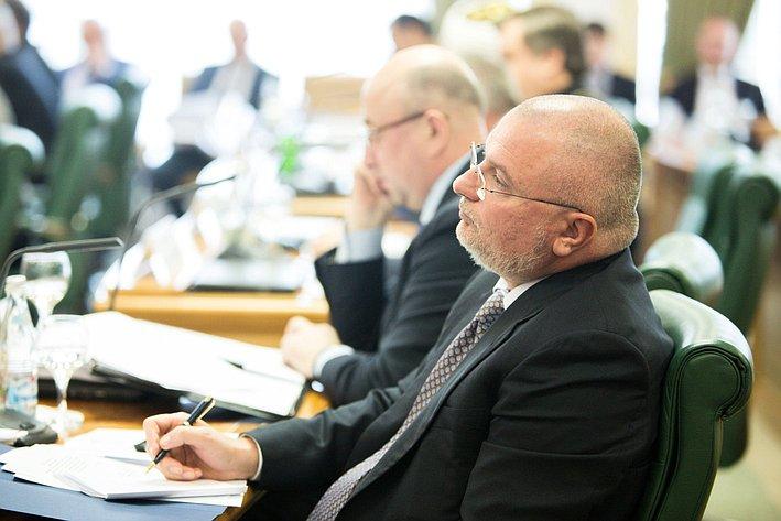 Заседание Президиума Совета законодателей РФ и Консультативного совета по межнациональным отношениям -13 Андрей Клишас