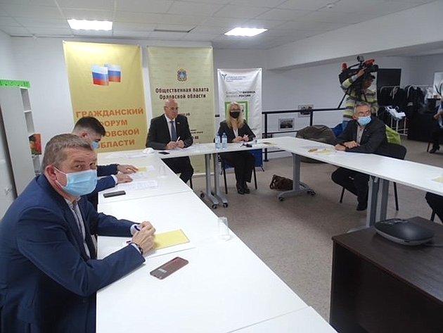 Владимир Круглый принял участие всовещании натему «Оказание паллиативной помощи исоциальной поддержки тяжелобольным гражданам Орловской области»