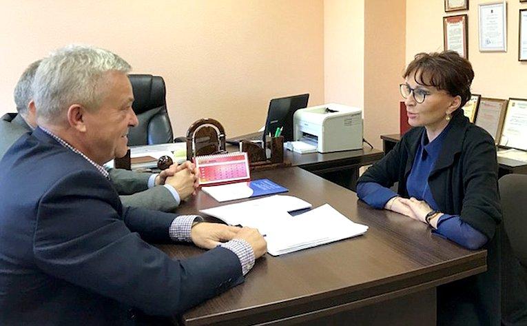 Встреча Т. Кусайко сВ. Акульчевым иМ. Кривошеем