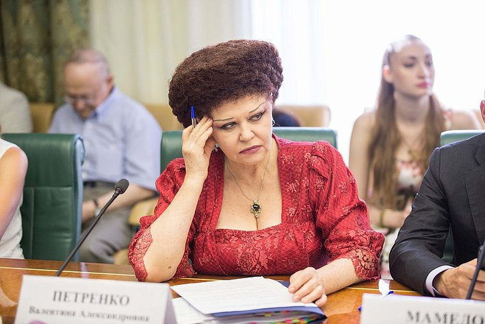 В Совете Федерации состоялось заседание Комитета общественной поддержки жителей Юго-Востока Украины-7 Петренко
