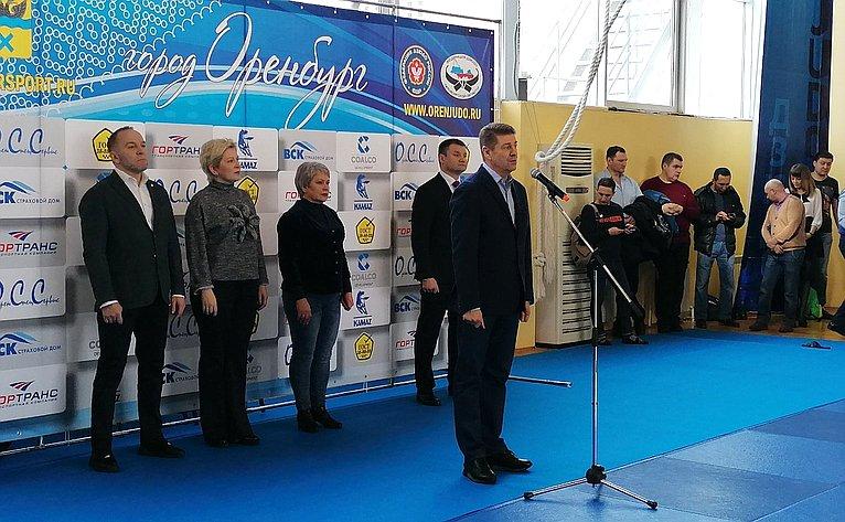 Андрей Шевченко принял участие воткрытии командного турнира подзюдо вОренбурге