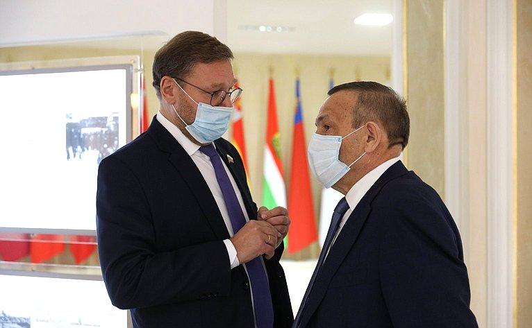 Константин Косачев иАлександр Евстифеев