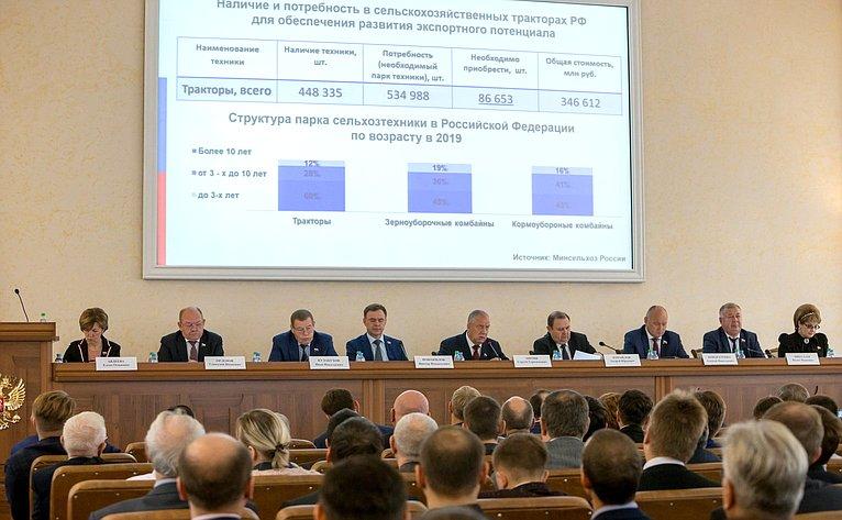 Выездное совещание Комитета СФ поаграрно-продовольственной политике иприродопользованию