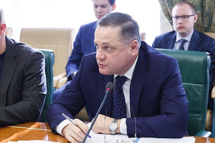 Заседание Комитета общественной поддержки жителей Юго-Востока Украины