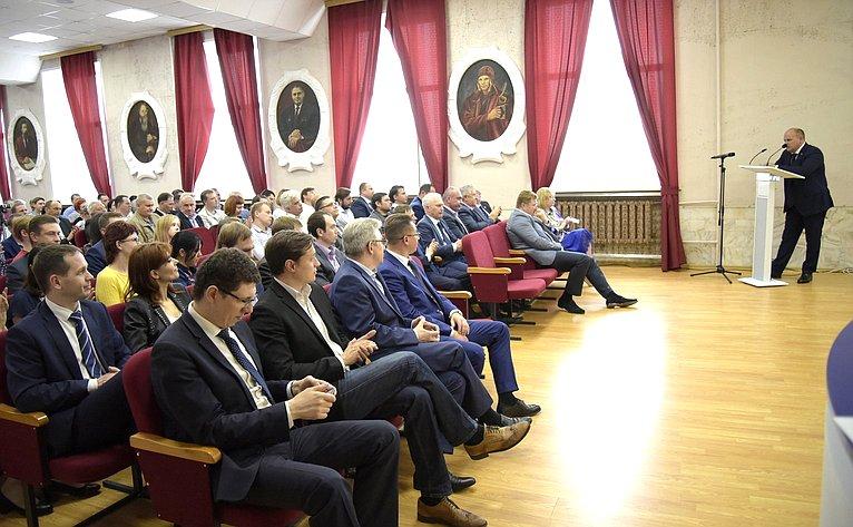 А. Дмитриенко провёл встречу ссотрудниками Научно-исследовательского института физических измерений г. Пензы