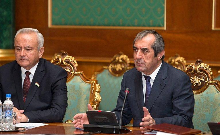 Председатель Маджлиси милли Таджикистана М.Убайдуллоев
