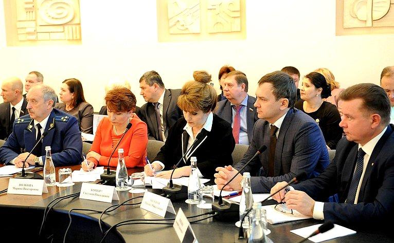 Выездное совещание Временной комиссии СФ посовершенствованию правового регулирования всфере государственного контроля (надзора) имуниципального контроля вРФ