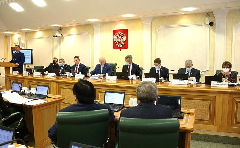 Совместное заседание Комитета СФ поконституционному законодательству игосударственному строительству, Комитета СФ пообороне ибезопасности иКомитета СФ пофедеративному устройству, региональной политике, местному самоуправлению иделам Севера