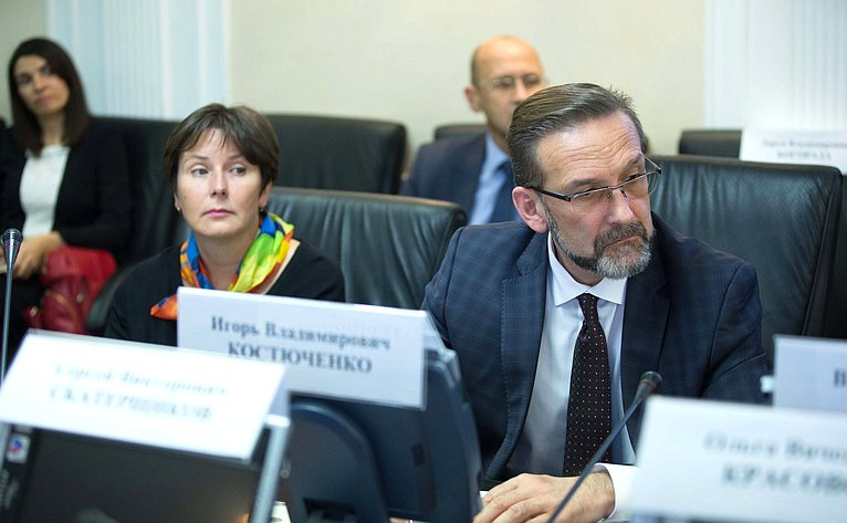Совещание, посвященное вопросам реализации национального проекта понаправлению «Жилье игородская среда»