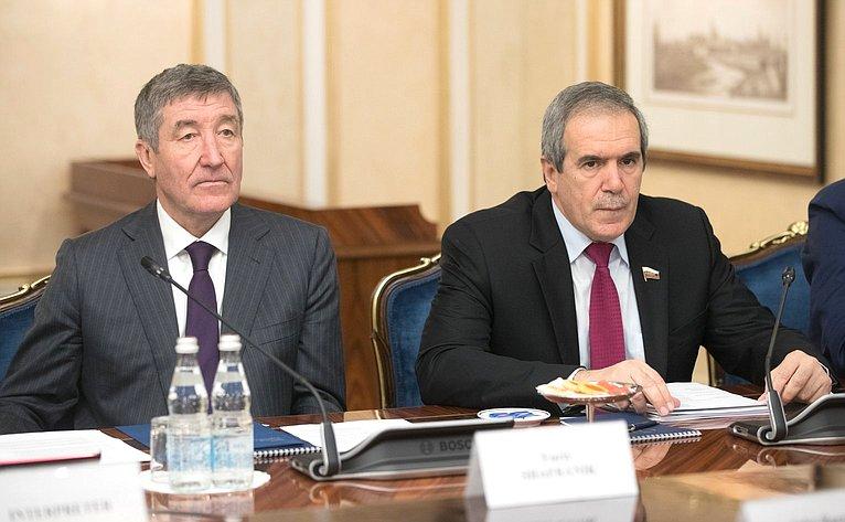 Встреча Ю. Воробьева счленами американской делегации-участниками группы «Дартмутский диалог»